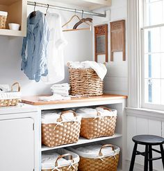 7 Genius Ideas for an Organized Laundry Room