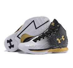 the best attitude 05ee3 a3132 High Quality Free Shipping Under Armour Stephen Curry 1 Shoes Black Glod  Gradient, Price   99.00 - Air Jordan Women Shoes - Women s Air Jordan Shoes