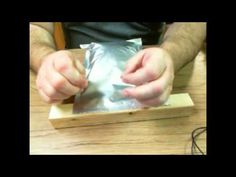Vacuum Sealing mylar bags w/hand pump - YouTube