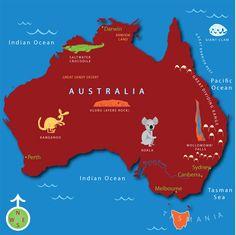 Explore Australia with this animated atlas.