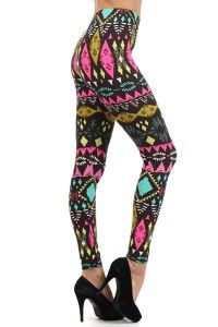 #leggings #sewsmockingcute #chocolate #neon #trending $18.00