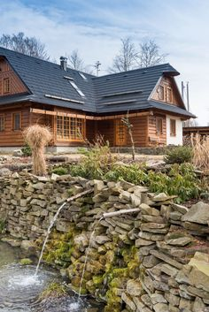 add picture to album Wooden Cottage, Chalet Style, Cabin Homes, Home Fashion, Pergola, House Design, Architecture, Nice, House Styles