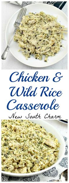 This Chicken and Wild Rice Casserole is a great recipe for a weeknight dinner but it's fancy enough to serve for a special occasion.