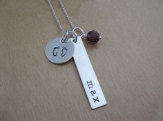 Personalized Baby Name Necklace  Gift for by HelloLovelyJewelry, $50.00