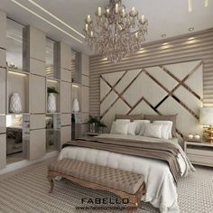 87 extraordinary and inspiring home bedroom interior design for decoration 83 Modern Luxury Bedroom, Luxury Bedroom Design, Bedroom Furniture Design, Master Bedroom Design, Luxurious Bedrooms, Home Decor Bedroom, Home Interior Design, Contemporary Bedroom, Luxury Home Decor