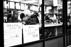 Eating at the Counter. Leica M Monochrom, Leica Summilux 50mm f/1.4 ASPH. © Jim Fisher