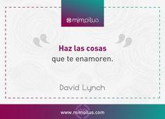 """""""Haz las cosas que te enamoren"""" David Lynch #creatividad en el #diseñografico Branding, David Lynch, Pink, Journals, Libros, Corporate Identity, Photomontage, Editorial Design, Design Web"""