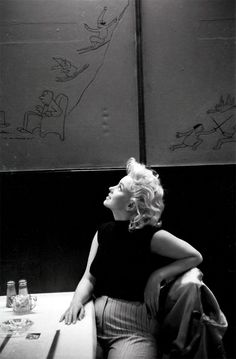 Marilyn Monroe photographed by Ed Feingersh, 1955
