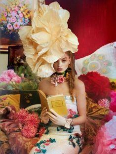 99e770d2b32 Spring Fever in chanel Flower Fashion, Editorial Photography, Art  Photography, Fashion Photography Inspiration