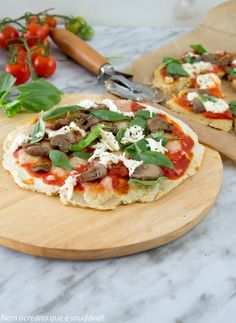 Nem acredito que é saudável!: Pizza com base de millet/quinoa. Quinoa /millet pizza crust