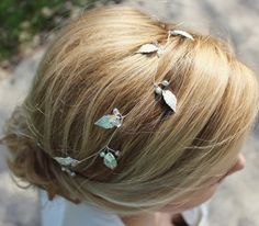 Haarband Silver Leaves Bobby Pins, Hair Accessories, Beauty, Head To Toe, Hair Makeup, Wedding, Schmuck, Hairpin, Hair Accessory
