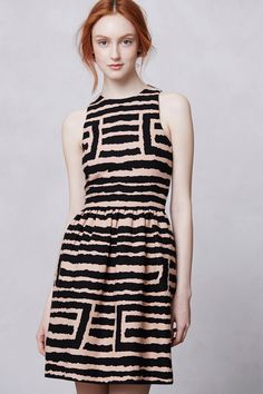 Segmented Labyrinth Dress / Anthropologie.com