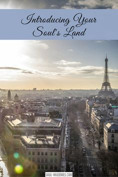 Has Paris captured your heart and imagination? Do you dream of sauntering the streets, stopping at a cafe for a cafe or glass of wine?  You may be hearing a part of your soul. Get to know that fundamental, unchanging part of your personality - what I call your soul's land. Start exploring it with this fun exercise at http://www.soul-warriors.com/introducing-your-souls-land/