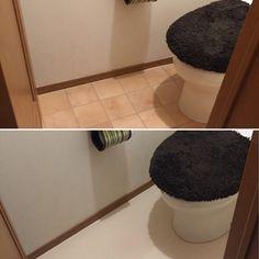 暗〜いトイレ♡セルフリフォーム②セリアのリメイクシートで壁を変えてイメチェン♫|LIMIA (リミア) Bath Mat, Home Decor, Decoration Home, Room Decor, Home Interior Design, Bathrooms, Home Decoration, Interior Design