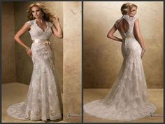 wedding dress 1 made by satin 2 customized size and color 3 embelish with lace 4 factory directly Prom Dresses, Formal Dresses, Wedding Dresses, Backless Lace Wedding Dress, Trends, Satin, Bridal, Color, Inspiration
