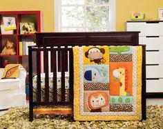 Kidsline Happy Tails Crib Bedding