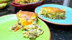 Inspired By eRecipeCards: Tater Tot Breakfast Casserole - Church PotLuck Breakfast