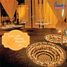 Create lush, soft, delicate and beautiful look to your wedding setup with statement flower and diya decorations. #ChandraWeddings #RoyalWeddings #DestinationWedding #HeritageWedding