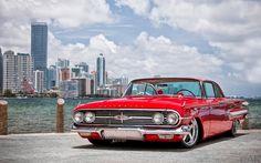Foto íngreme restyling Chevrolet Chevy Impala 1960