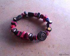 Bracciale Life in Colour - Accessori Handmade con liquirizie in fimo, un' idea divertente al polso!
