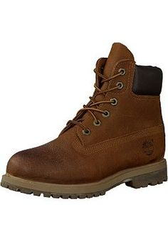 """Timberland 6"""" Premium Boot Rust Nubuck"""
