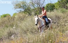 Get your horse in shape and ready to ride with this exercise plan.