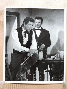 The Alamo original photo 1960 Lawrence Harvey with Richard Boone