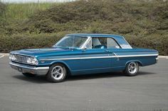 1964 Ford, Ford Fairlane, First Car, Cool Cars, Old School, Classic Cars, Mustangs, Race Cars, Motorcycles