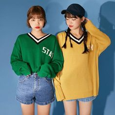 #Korean Fashion #Icecream12 #Twinlook #Autumn2017