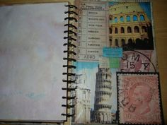 Italy Travel Journal Cover