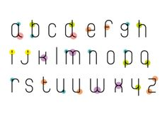 Coquet • Typeface • Specimen by Vanessa Farano, via Behance