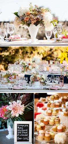 Romantic outdoor vineyard wedding {Photography by: Duy Ho Photography}