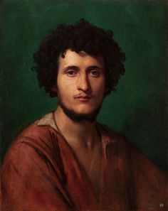Portrait of Giacomo di Orlandi Subiaco, by Jean-Leon Gerome Jean Leon, Classical Art, Mural Painting, French Artists, Figurative Art, Illustrations Posters, Art History, Oil On Canvas, Art Photography
