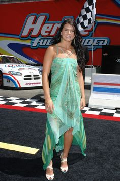 Indy 500 racecar driver DANICA PATRICK at the world premiere, on Hollywood Boulevard, of Walt Disney Pictures' Herbie: Fully Loaded. June 19, 2005 Los Angeles, CA  2005 Paul Smith / Featureflash*** USA ONLY ***
