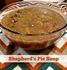 Shepherd's Pie Soup Recipe - From Val's Kitchen