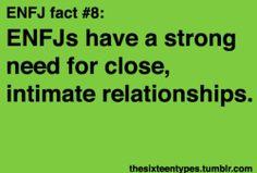 So true, so true. http://myersbriggspersonalitytypes.tumblr.com/tagged/enfj
