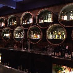Grain whiskey bar @playaprovisions                                                                                                                                                      More