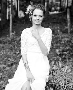 Boho Braut im Wald, Salzburg, Birgit Schulz Hochzeitsfotograf, www.birgitschulz.at Girls Dresses, Flower Girl Dresses, Salzburg, Instagram, Wedding Dresses, Flowers, Fashion, Woodland Forest, Bridal Dresses
