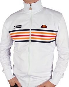 ellesse  Elite Track Top White M WHITE An 80s Casual Classics exclusive collaboration between ourselves and Ellesse Heritage, our Ellesse Elite tracksuit top features classic Ellesse colours incorporated into (Barcode EAN = 5060193136523) http://www.comparestoreprices.co.uk/december-2016-5/ellesse-elite-track-top-white-m-white.asp