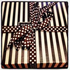 Instagram photo by @ersilverman #henribendel #stripes