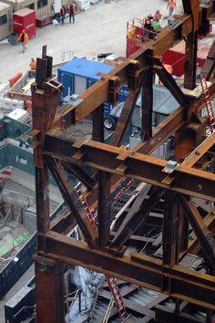 Custom Metal Fabrication, Steel Structure, Architecture, Board, Real Men, Steel Frame, Arquitetura, Architecture Design, Planks