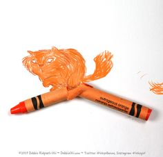 You never know what might come out of a broken crayon (#2 in series by Debbie Ridpath Ohi).
