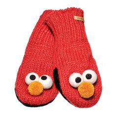This cute Elmo Knitwits mittens will keep your little ones hands warm all winter! A percentage of every Knitwits sales is donated to help improve the health, education, and well being of children in need! Tootsies Shoes Located in Barrington, IL 60010 we are in the Ice House Mall Fall 2014 Fashion hats and shoes for kids.