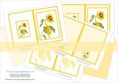 Sunflower Journal Kit. Digital Journal 5x7. Planner, Junk Journal, Ephemera. Printable Shabby Chic Craft Paper, Envelopes, Cards. JN003 Scrapbooking Flowers, Make Your Own Card, Digital Journal, Shabby Chic Crafts, Paper Envelopes, Printable Paper, Junk Journal, Ephemera, Art Projects