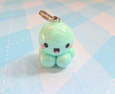 Kawaii+Charm+Baby+Octopus+Mint+Chibi+Charm+Cute+by+JollyCharms