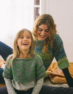 Book Beginners 2 Autumn / Winter | 12: Kids Sweater | Grey-Green