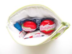 Mini Insulated Snack Bag Green Apple by piggledee on Etsy