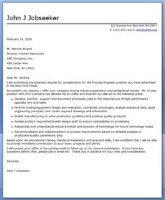 process engineering cover letter - Loan Processor Cover Letter