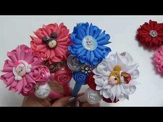 Tiara flores de puntas y rococo pequeña, lazos navideños, balacas bautizo, Video 537 - YouTube