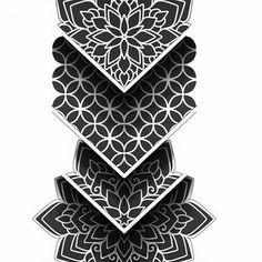 Geometric Tattoo Sleeve Designs, Geometric Tattoo Pattern, Geometric Mandala Tattoo, Geometric Tattoos Men, Mandala Tattoo Design, Mandala Sleeve, Tattoo Designs Men, Mandala Tattoo Men, Dot Tattoos